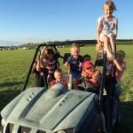 Huge Camping Fields At Livestock Longdon