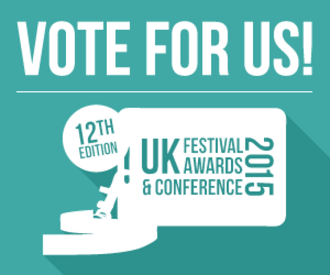 We've been nominated!!