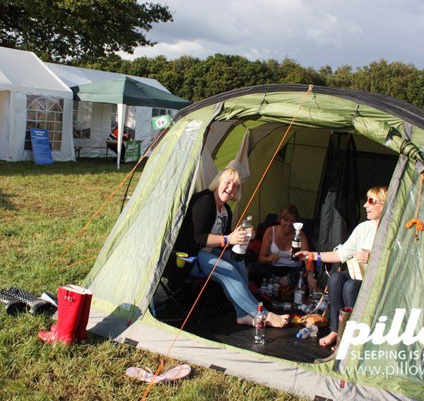 Family Tent & Family Tent - Livestock Longdon Festival